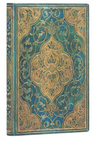 Paperblanks Address Book - Turquoise Chronicles Mini (NEW).