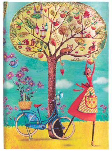 Paperblanks Mila Marquis - Autumn Apples Midi LINED (NEW)