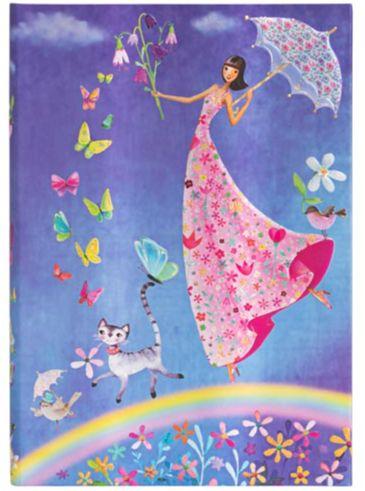 Paperblanks Mila Marquis - Spring Rainbow Midi LINED (NEW)