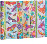 Paperblanks Hummingbirds & Flutterbyes Guest Book UNLINED (NEW)