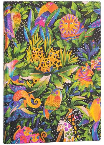 Paperblanks Flexis Jungle Song Midi 176pp SOFTCOVER LINED (NEW)