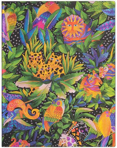 Paperblanks Flexis Jungle Song Ultra 176pp SOFTCOVER UNLINED