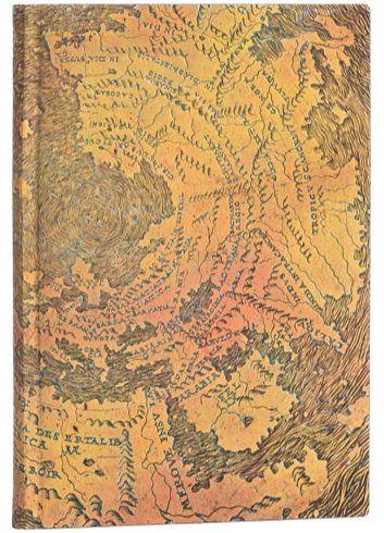 Paperblanks Flexis Hunt-Lenox Globe Midi 176pp SOFTCOVER LINED