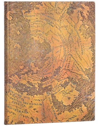 Paperblanks Flexis Hunt-Lenox Globe Ultra 176pp SOFTCOVER LINED
