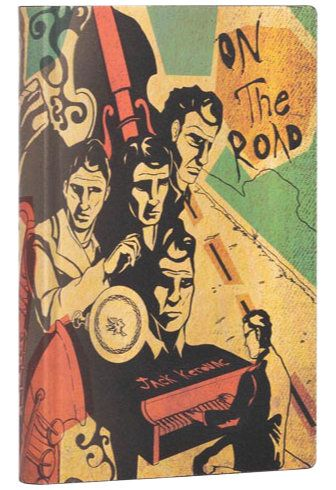 Paperblanks Flexis Jack Kerouac, On the Road Mini 208pp SOFTCOVER LINED