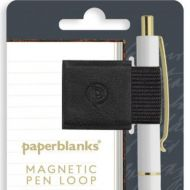 Paperblanks Carbon Black Magnetic Pen Loop (NEW)