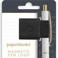 Paperblanks Carbon Black Magnetic Pen Loop (NEW)