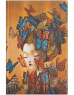 Paperblanks Madame Butterfly Flexi Maxi SOFTCOVER DOT-GRID (PRE-ORDER)