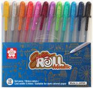 Sakura Gelly Roll Metallic Colours Pens 12 Set