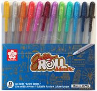 Sakura Gelly Roll Metallic Colours Pens 12 Set