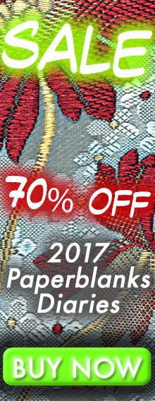SALE - 70% OFF - 2017 Paperblanks Diaries - BUY NOW