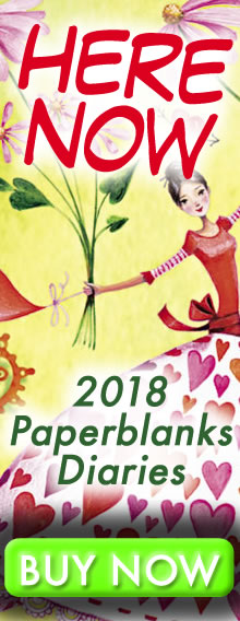 HERE NOW - 2018 Paperblanks Diaries - order today for immediate delivery