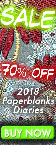 SALE - 70% OFF - 2018 Paperblanks Diaries - BUY NOW