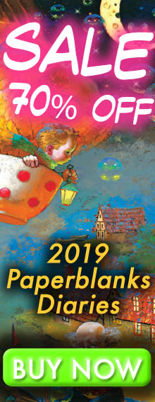 SALE - 70% OFF - 2019 Paperblanks Diaries - order today for immediate delivery