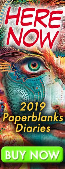 HERE NOW - 2019 Paperblanks Diaries - BUY NOW