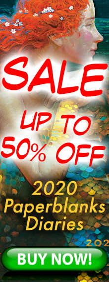 SALE - 50% OFF - 2019 Paperblanks Diaries - BUY NOW