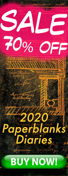SALE - 70% OFF - 2020 Paperblanks Diaries - BUY NOW
