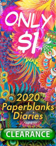 ONLY $1 - 2020 Paperblanks Diaries - CLEARANCE