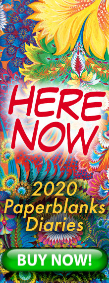 HERE NOW - 2020 Paperblanks Diaries - order today for immediate delivery - BUY NOW