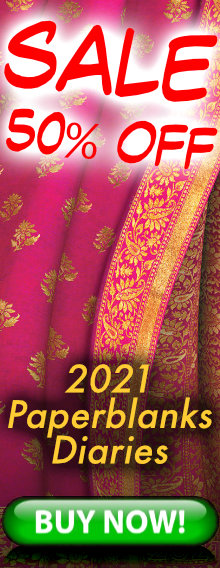SALE - 50% OFF - 2021 Paperblanks Diaries - BUY NOW