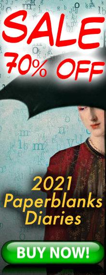 SALE - 70% OFF - 2021 Paperblanks Diaries - BUY NOW