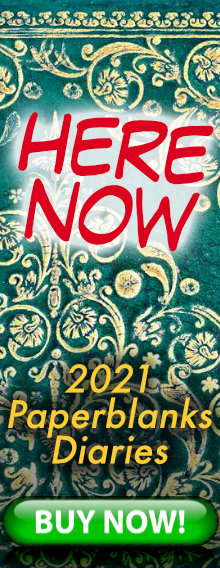 HERE NOW - 2021 Paperblanks Diaries - order today for immediate delivery - BUY NOW