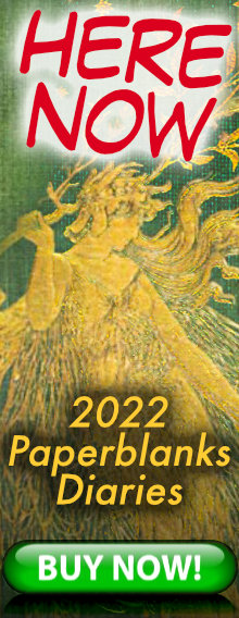 HERE NOW - 2022 Paperblanks Diaries - order today for immediate delivery - BUY NOW