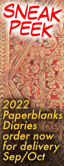 2022 Paperblanks Diaries - order now for delivery Sep/Oct